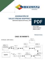 Asignación de VSM (Diplomado de Ingenieria de Procesos)