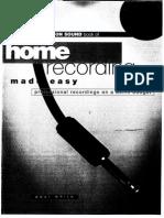 41406030 Home Recording Made Easy