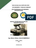 Manual de Métodos de analisis