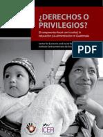 Derechos o Privilegios