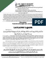 LAYLATOU L-QADR