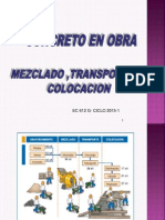 Concreto en Obra - Transporte y Colocacion -Atc2015