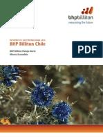 Informe Sustentabilidad 2014 BHPBilliton OperacionesChile