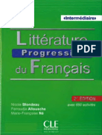 Littérature Progressive Du Français
