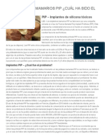 Los Implantes Mamarios PIP ¿Cuál Ha Sido El Problema_ _ Linea y Salud