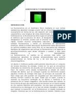 La Fluorescencia y Fosforescencia