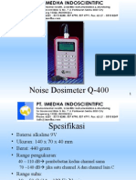 Noise Dosimeter Q-400 Ok Imedha