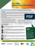 012_Qld Nature Refuge Conference Invitation_080715