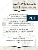 Ignaciana, Rivista Di Ricerca Teologica, 3-2007