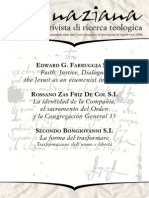 Ignaciana, Rivista Di Ricerca Teologica, 6-2008