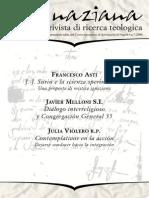 Ignaciana, Rivista Di Ricerca Teologica, 7-2009