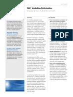 Sas Marketing Optimization Factsheet