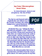 Answering Some Misconceptions about Islam