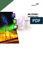 ANCP0801 Mutual Coupling Measurements