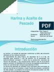 Producción de Harina y Aceite de Pescado