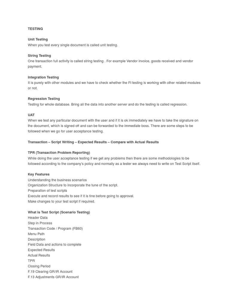 UAT Testing   Software Testing   Unit Testing