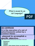 Ad Campaign Planning & Effectiveness