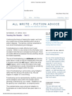 All Write - Fiction Advice_ April 2013
