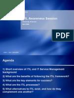 ITIL Awareness