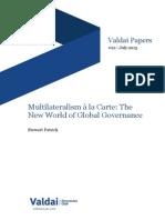 Multilateralism a La Carte