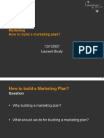 How to Build Marketing Plan