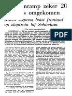 Treinramp Schiedam 1976