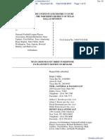 Weinberg v. National Football League Players Association et al - Document No. 30
