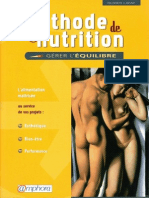 Methode de Nutrition