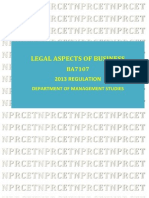 BA 7107 Legal Aspects of Business