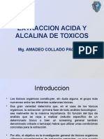 Extraccion Acida y Alcalina de Toxicos