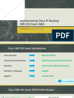 300-101 Implementing Cisco IP Routing Certification Exam Questions
