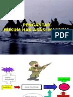 Slide - Pengantar Hukum HAM - Kolonel Chk Wahyu Wibowo.
