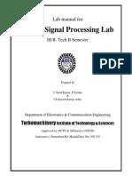 Dsp Lab Manual Version 7 1