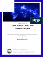 Optical Switching MInor Project