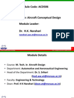 ACD506 Sesssion0 Aircraft Conceptual Design
