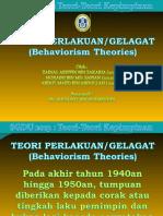 Teori Behaviorism Atau Perlakuan