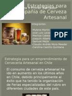 Estrategias Para Compañía de Cerveza Artesanal