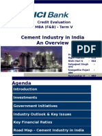 Cement Industry Analysis