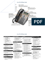 Cisco 7911 Phone Guide