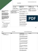 curriculum map 6th grade 2015