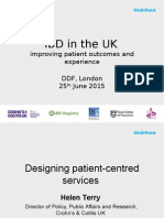 5 DDF 2015 Designing Patient Centred Services - H TERRY