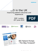 6 DDF 2015 IBD Patient Portals - The Way Forward - C CALVERT