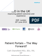 7 DDF 2015 IBD Patient Portals - The Way Forward - C STANSFIELD