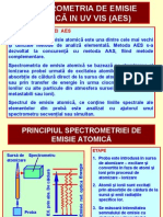 Chimie Analitica - Analiza Instrumental A Curs 4