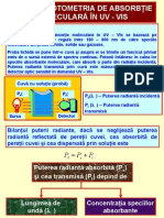 Chimie Analitica - Analiza Instrumental A Curs 2