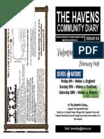 The Havens Community Diary February 2015