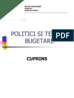 Suport Politici Si Tehnici Bugetare