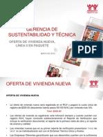Oferta de Viv. Nueva-l-II en Paquete. Mayo 2015
