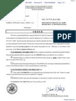 Seay v. Donald et al - Document No. 5