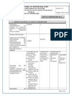 GFPI-F-019 Formato Guia de Aprendizaje No. 2 Documentacion
